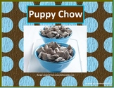 Adapted cooking recipe - Puppy chow