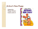 Adapted story- Arthurs New Puppy