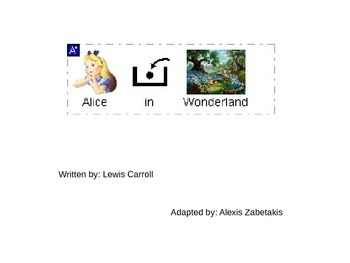 Adapted version of Alice in Wonderland