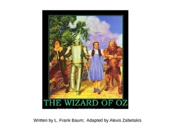 Adapted version of The Wizard of Oz