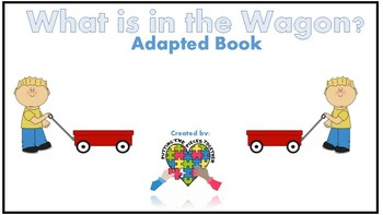 """Adapted """"what object"""" Book Bundle"""