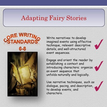 'Adapting Fairy Stories' - Narrative Techniques