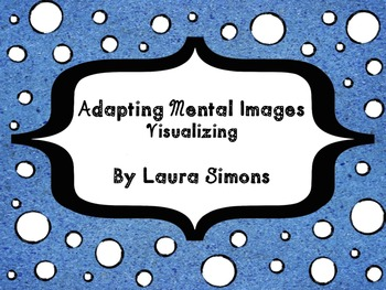 Adapting Mental Images Graphic Organizer