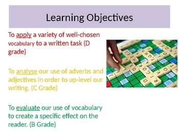 Adapting Vocabulary