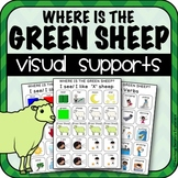 Visual supports for Where is the Green Sheep (Special Education)