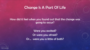 Adapting to CHANGE lesson w 4 video links 2 Activities PBIS Character Ed