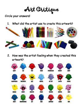Adaptive Art Critque