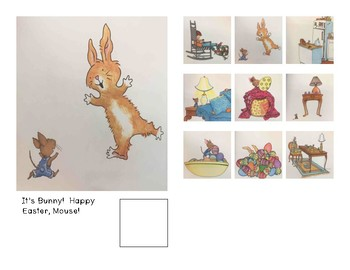 Adaptive Book- Happy Easter Mouse