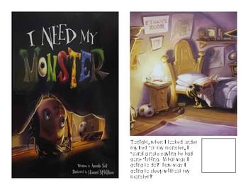 Adaptive Book- I need my Monster