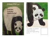 Adaptive Book- Panda Bear, Panda Bear, what do you see?