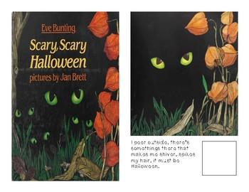 Adaptive Book- Scary Scary Halloween