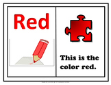 Adaptive Book on the Color Red