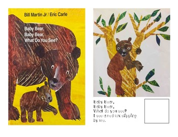 Adaptive Books- Baby Bear, what do you see?