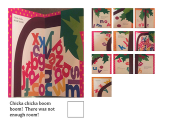 Adapted Books- Chicka, Chicka, Boom Boom