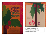 Adapted Books- Chicka, Chicka, Boom Boom
