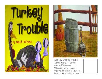 Adaptive Books- Turkey Trouble