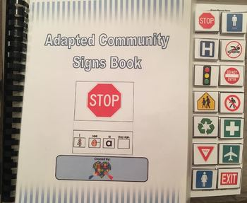 Adapted Community Signs Book