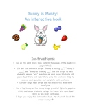 Adaptive Easter Book: Bunny is Messy!