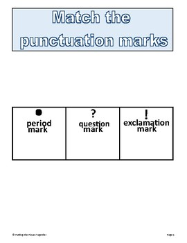 Adaptive Punctuation Work Binder