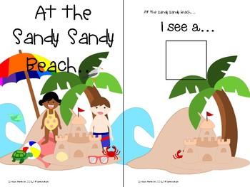 Adaptive Summer Book: At the Sandy Sandy Beach