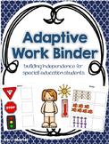 Adaptive Work Binder (editable)