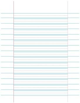 Adaptive Writing Paper