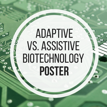 Adaptive vs. Assistive Technology Poster