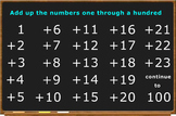 Add 1 to 100: The Commutative Law Shines