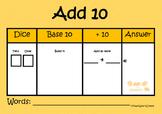 Add 10! Game - TeachLearnCreate