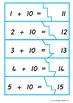 Add 10 Teen Number Self-correcting Puzzle- Australian Curriculum Aligned