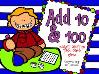 Add 10 and 100, 3-Digit Addition, Envision Math 2.0 Topic 10-1