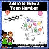 Add 10 to Make A Teen Number
