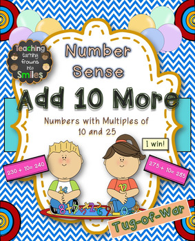 Add 10 Math Center Game Bundle