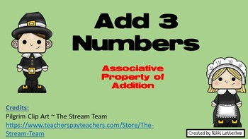 Add 3 Numbers-Pilgrims