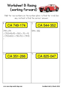 Add 3-digit numbers (Grade 3)