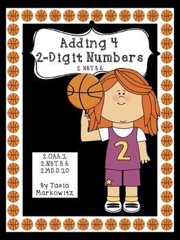 Add 4 2-digit Numbers