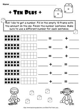 Kindergarten 10 FRAMES!