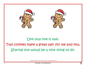Add, Add as Fast as You Can:  Learning Doubles Facts with the Gingerbread Man!