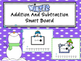 Add And Subtract Smart Board -Winter