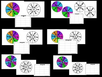 Sparkle, Spin, Add and Subtract!