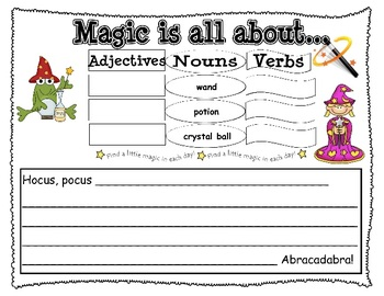 Add Details to Writing Using Adjectives and Verbs