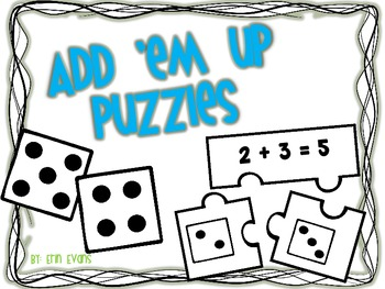 Add 'Em Up - Addition Puzzles