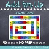Add 'Em Up: An Addition Math Game
