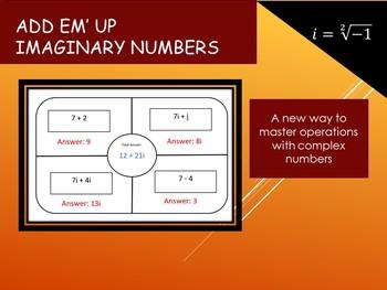 Add Em' Up Imaginary Numbers