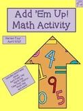Add 'Em Up! Math Activity (April Edition)
