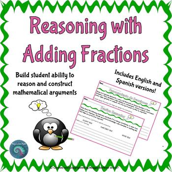 Add Fractions: Collaborative Arguments
