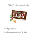 Add Fractions with Like Denominators using M&M's