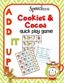 Add IT up: Cookies and Cocoa, Open Ended speech therapy ga