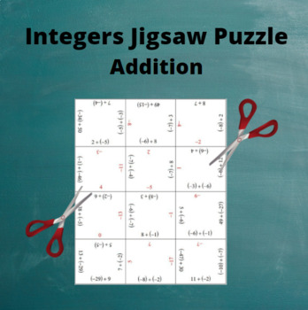 Add Integers: Addition Puzzle