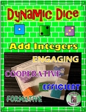 Add Integers Game-Based Activity Dynamic Dice